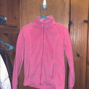 Girls (14/16) pink Columbia fleece